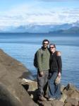 Us at lake
